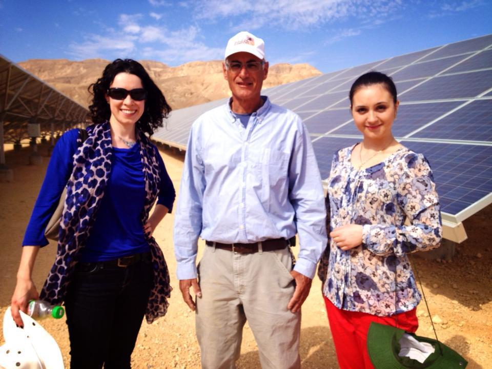 Anya Zhuravel, Seth Kessler and Julia Mendel at Ketura Sun