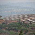 Solar field in Rwanda.