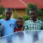 Test solar field at the Agahozo Shalom Youth VIllage in Rwanda.